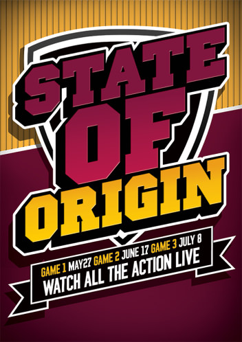 Book a SuperTable For State Of Origin Game 1