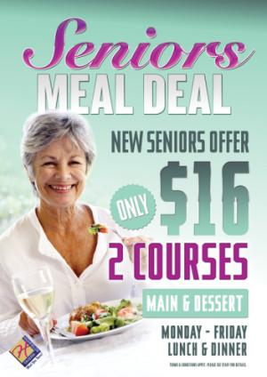 Seniors Meal Deal
