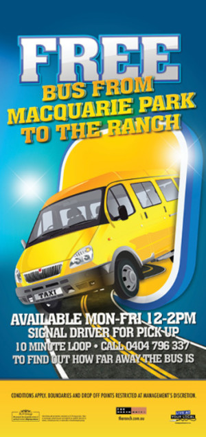 Free Bus to The Ranch