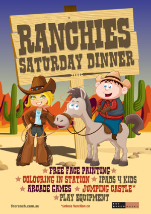 Ranchies Saturday Dinner Activities