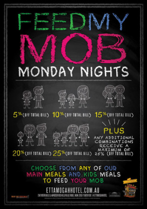 Monday Nights Feed My Mob