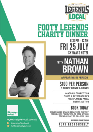 Footy Legends Charity Dinner