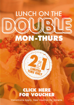 VOUCHER: Lunch on the Double