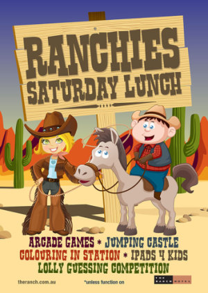 Ranchies Saturday Lunch