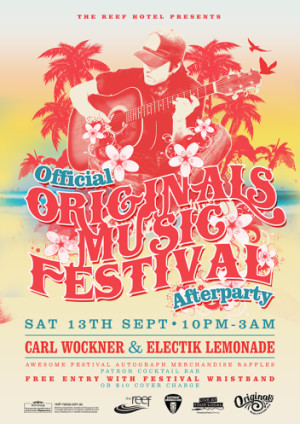 The Official Originals Music Festival Afterparty