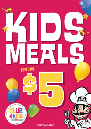KIDS MEALS FROM $5