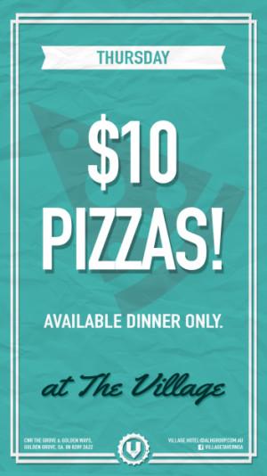 $10 Pizza Night