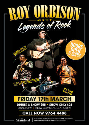 Roy Orbison & the Legends of Rock Tribute