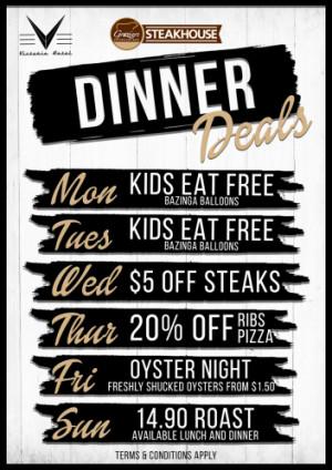 Dinner Deals