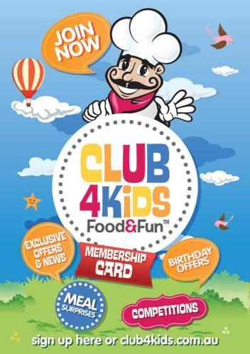Club 4 Kids - Food and Fun